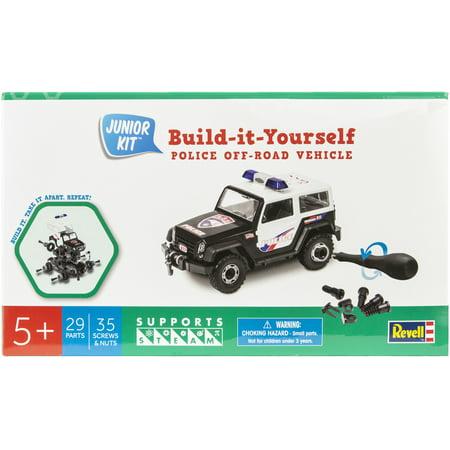 2007 Off Road Models - Junior Plastic Model Kit-Police Off Road Vehicle