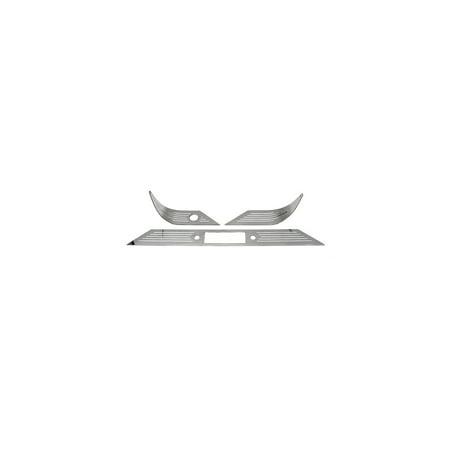 Eckler's Premier  Products 57130889 Chevy Dash Trim Set Billet Aluminum (Real Aluminum Dash Trim)