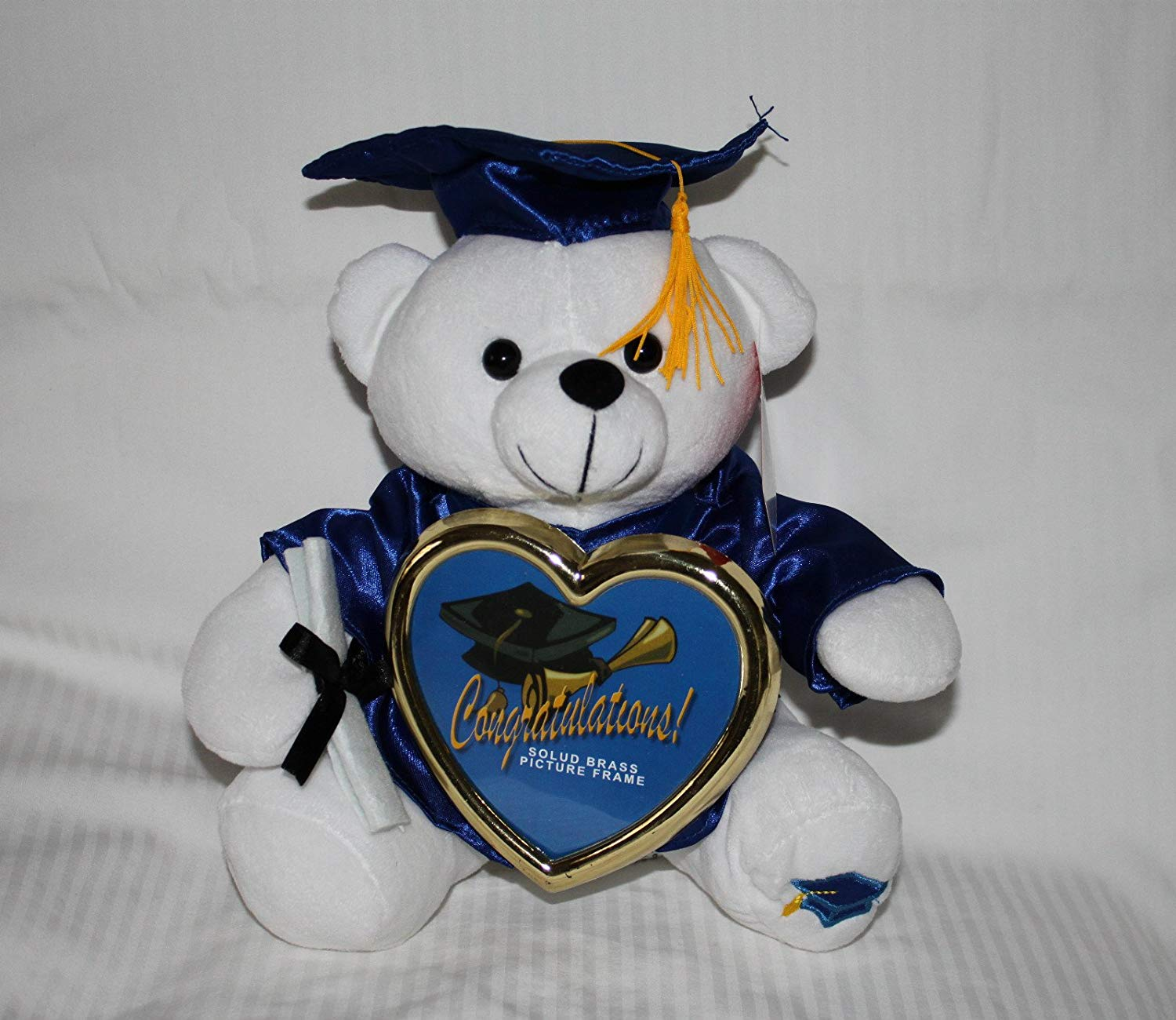 """10"""" Graduation Teddy Bear with Cap, Gown and Diploma Plush [Toy] by Licensed"""