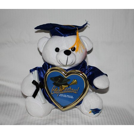 "10"" Graduation Teddy Bear with Cap, Gown and Diploma Plush [Toy]"