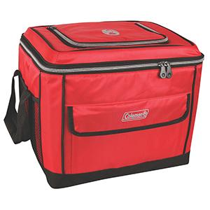 Coleman 40 Can Collapsible Cooler - Red  Color = NONE ; Size = NONE