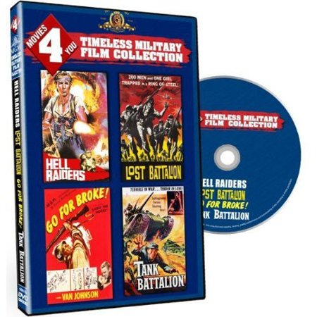 Top Witchcraft Movies (Movies 4 You: Timeless Military Film Collection - Shout At The Devil / Hell Raiders / Lost Battalion / Tank)