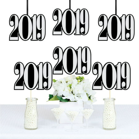 Graduation Cheers - 2019 Graduation Decorations DIY Party Essentials - Set of 20 (Diy Prom Decorations)