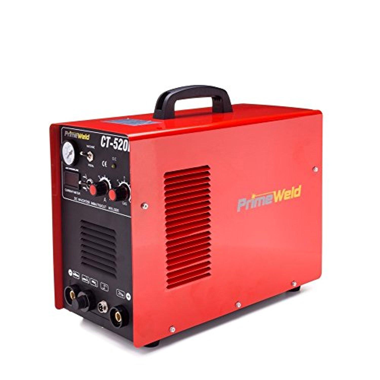Primeweld Ct520d 50 Amps Plasma Cutter, 200 Amps Tig Weld...