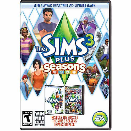 Sims 3 Plus Seasons (PC/Mac) (Digital Code)