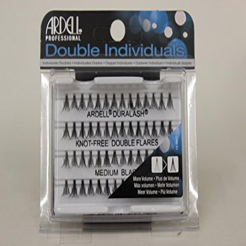 Ardell Double Individuals Knotted, Medium, Black