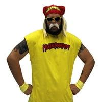 Hulk Hogan Hulkamania Complete Costume Set