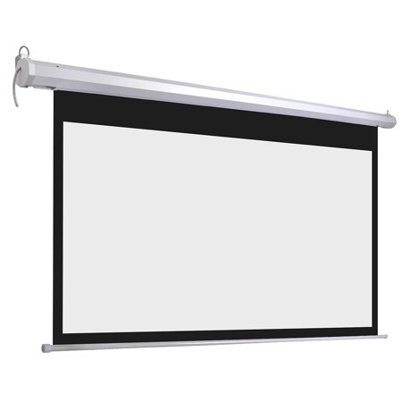 92inches diagonal 16 9 motorized electric projector screen for Motorized projector screen reviews