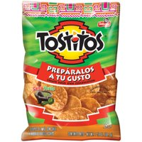 Tostitos Salsa Verde Flavored Tortilla Chips, 2.125 Oz.