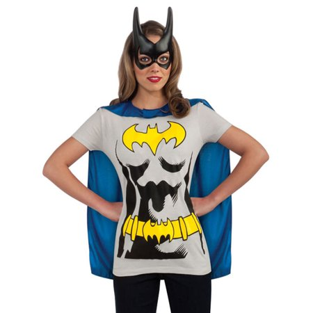 Eco Themed Halloween Costumes (Batgirl Sassy Adult Halloween Shirt)