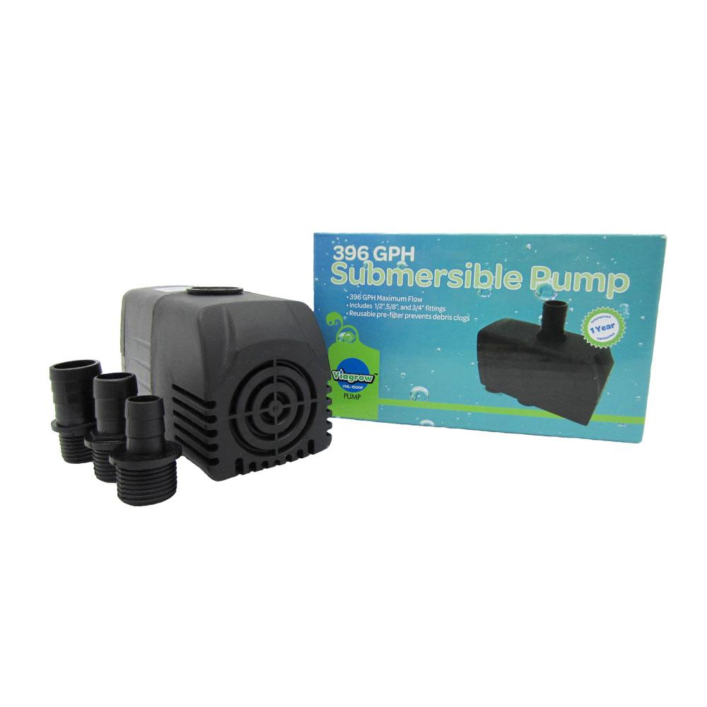 396 GHP Hydroponic, Fountain and Pond Submersible Pump by Atlantis Hydroponics