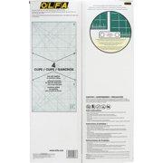 """Olfa Rotary Mat w/Grid 1.5mm 35x70"""" Set Green"""