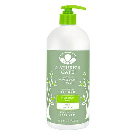 - Nature's Gate Moisturizing Lotion Fragrance Free 32 Fluid Ounce - Vegan