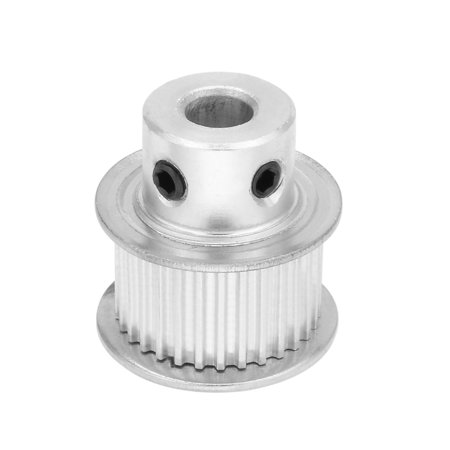 Aluminum MXL 30 Teeth 6mm Bore 11mm Belt Timing Idler Pulley Synchronous Wheel - image 1 of 1
