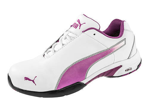 Puma Safety 642805 Low Cut Velocity Pink Safety Toe Non Slip SD Heat Resistant