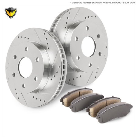 Rear Brake Pads And Rotors Kit For Chevy Silverado 1500 & Tahoe