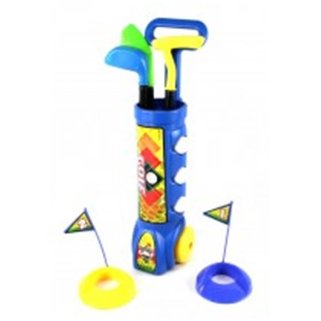 Az Import & Trading Playstation 311 Blue Deluxe Kids Happy Golfer Toy Golf Set Blue by AZ Trading & Import