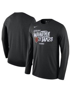 Product Image Cleveland Cavaliers Nike 2018 NBA Playoffs Mantra Legend Long  Sleeve T-Shirt - Black 60d6a94af