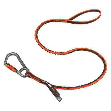 Tool Lanyard,Orange,Carabiner Hardware ERGODYNE 3108F(x)