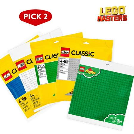 LEGO Masters: Pick 2 Baseplate Bundle