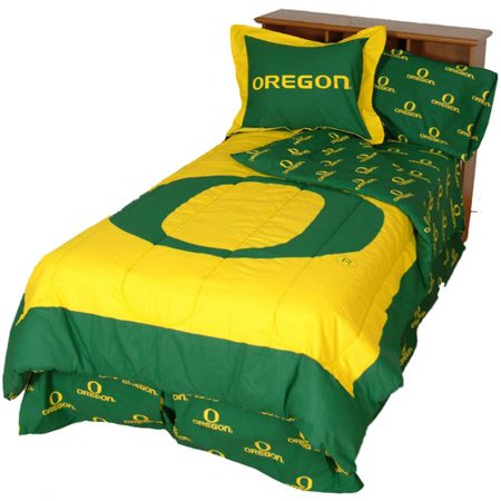 College Covers NCAA Oregon Reversible Comforter Set