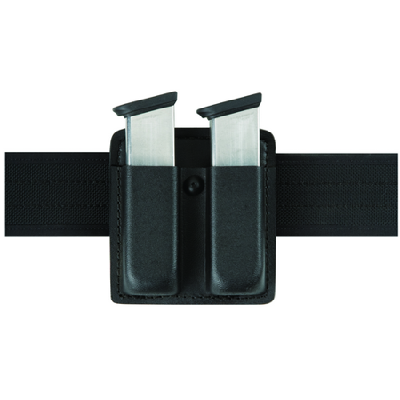 Safariland Double Mag Pouch - SAFARILAND Open top double mag pouch for  Open top double mag pouch for Glock 20, 21, basket weave