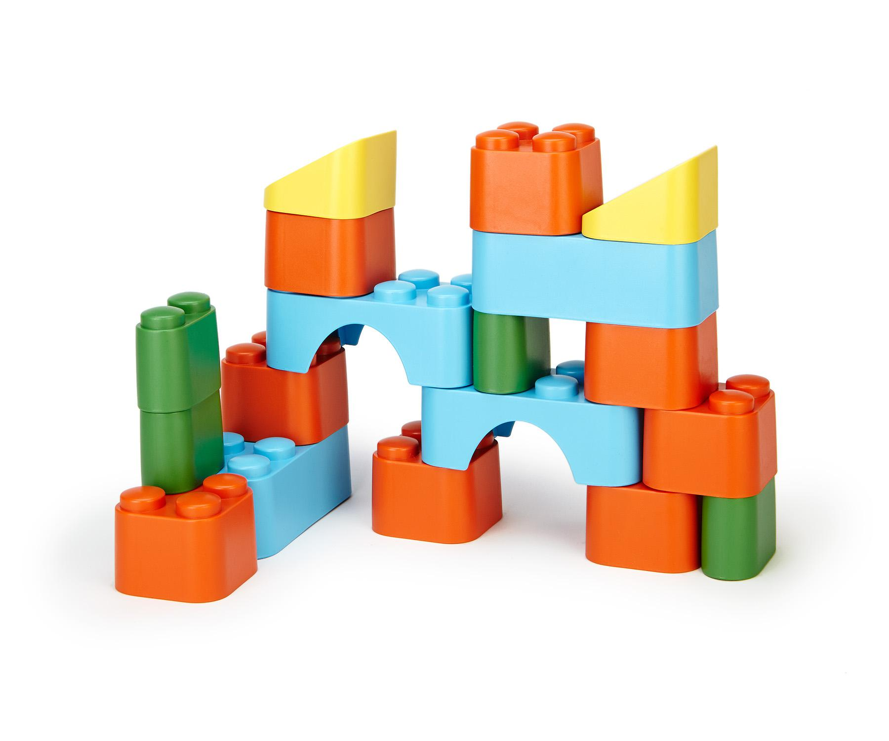 Block Set (Other) by Green Toys Inc