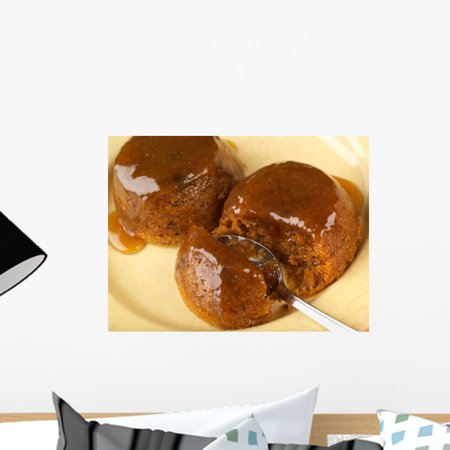 Sticky Toffee Pudding Wall Mural by Wallmonkeys Peel and Stick Graphic (18 in W x 14 in H)