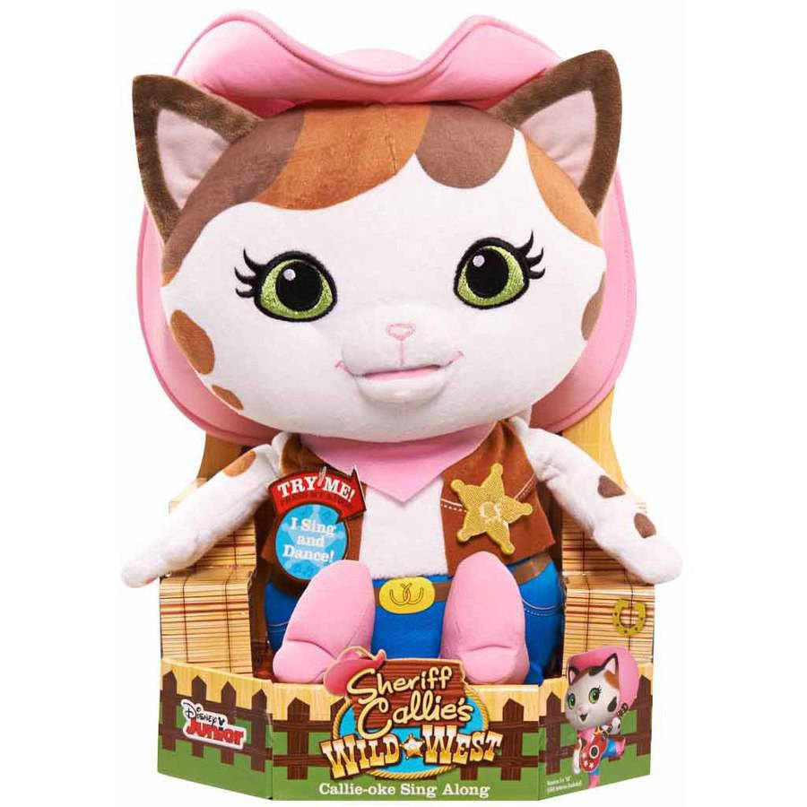 Sheriff Callie Feature Plush