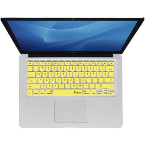 KB Covers Yellow Checkerboard Keyboard Cover MacBook Air 13 Pro (2008+) Retina by KB Covers