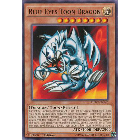 YuGiOh Duelist Pack Battle City Blue-Eyes Toon Dragon DPBC-EN043](Dragon City Halloween Battle Map)