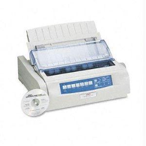Oki Microline 490 Printer - B/w - Dot-matrix - 360 Dpi - 24 Pin - 315 Cps - Parallel