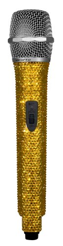 VocoPro Crystal-Studded Wireless Microphone Amber (UDIAMONDS) by