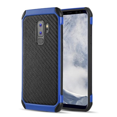 For Samsung Galaxy S9 Rubber IMPACT TRI HYBRID Case Skin Phone