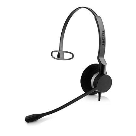 Jabra Biz 2300 Uc Mono Usb Headset W  Noise Canceling   Breath Resistant Microphone