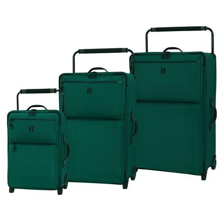 - it luggage World Lightest Los Angeles 3Pc Alpine Green