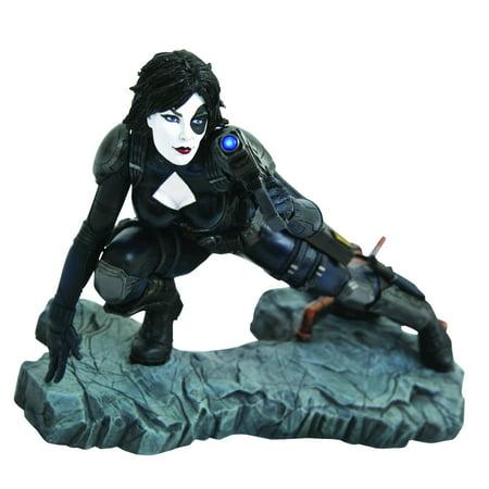 Marvel Premier  Domino Collectible Resin Statue [Comic Version]