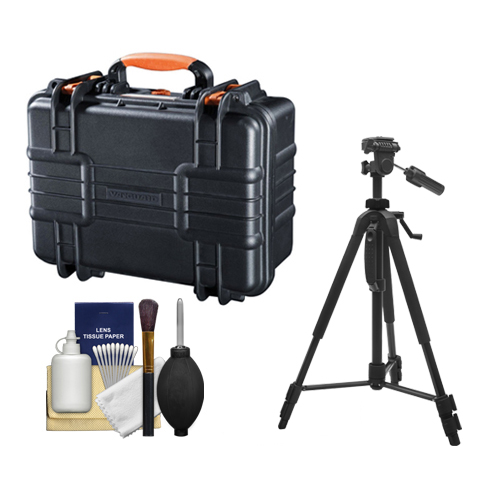 Vanguard Supreme 37F Heavy Duty Waterproof, Airtight & Dustproof Professional Hard Case with Foam Interior + Tripod for... by VANGUARD