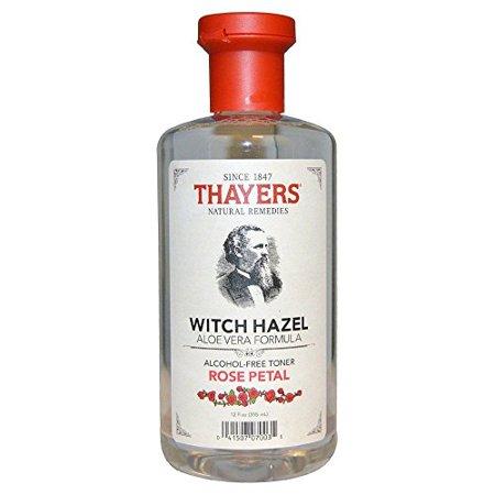 Thayers Alcohol-free Rose Petal Witch Hazel with Aloe Vera ~ 12 (Aloe Vera Rose)