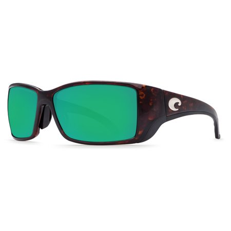 87cb3f25045 Costa Del Mar - Costa Del Mar Blackfin BL 10GF Tortoise Global Fit Sunglasses  Green Lens 580P - Walmart.com