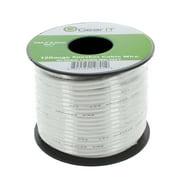 Speaker Wire , 12-Gauge Speaker Wire, GearIT 12AWG (50 Feet / 15.24 Meters) High Quality Speaker Wire, White