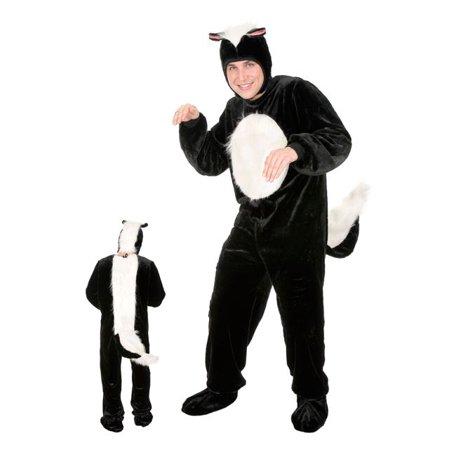 Skanky Halloween (Men's Plus Size Skunk Costume)