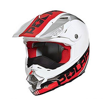 Carbon Star Snap - OEM Polaris Fly F2 Carbon Fiber Helmet Breath Deflector Quick Snap Liner XS-5XL