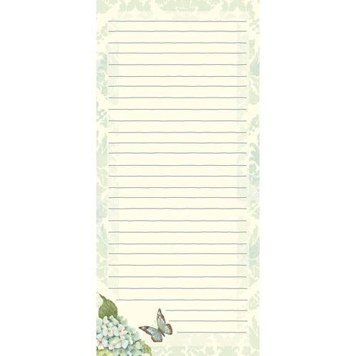 Blue Hydrangea Mini List Pad