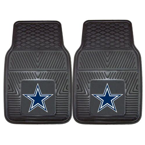 """Dallas Cowboys 2-pc Vinyl Car Mats 17""""x27"""""""