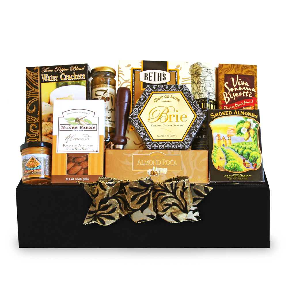 California Delicious Classic Gourmet Salami & Cheese Gift by