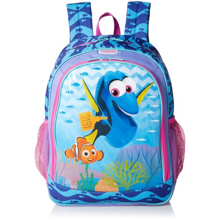 American Tourister Disney Finding Dory Backpack (American Tourister School Bags With Rain Cover)
