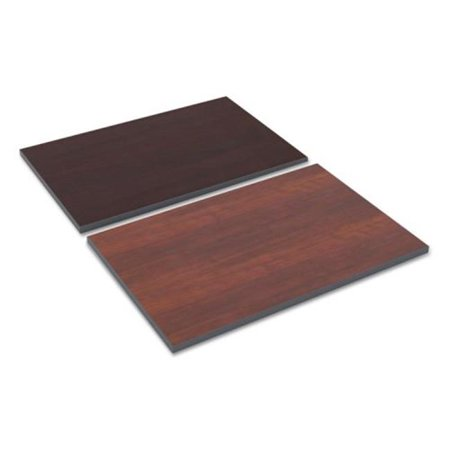 ALE Reversible Laminate Table Top, Medium Cherry & Mahogany - 36 x 24 in.
