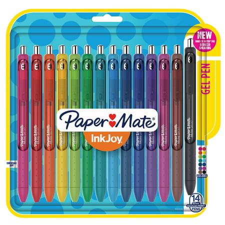 Paper Mate® InkJoy® Gel Pens, Medium Point, Assorted, 14 Pack