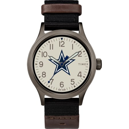 Timex - NFL Tribute Collection Clutch Men's Watch, Dallas (Cowboys Dynasty Watch)